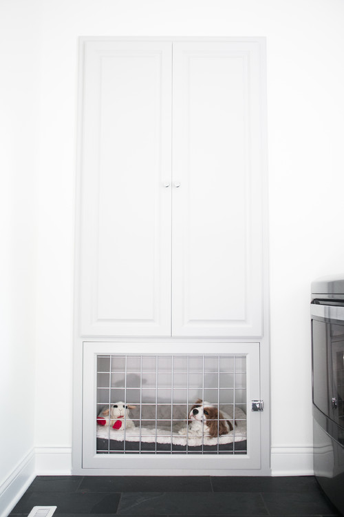 Built-in Wall Cabinet Dog Bed