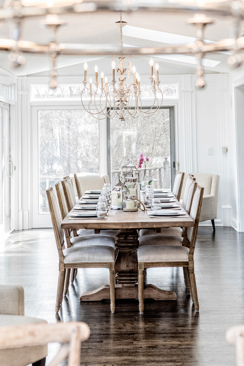 Modern Farmhouse Dining Rooms With Farmhouse Tables Pickled Barrel