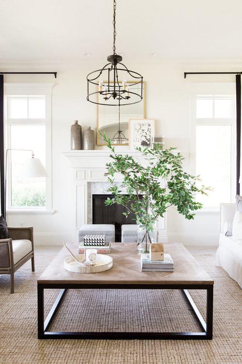 Modern Farmhouse Living Room Ideas Pickled Barrel