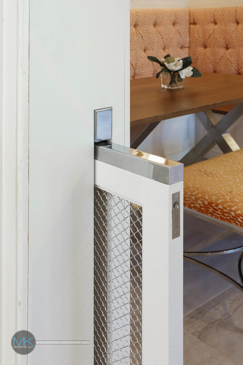 Sliding Dog Gate Built in Wall