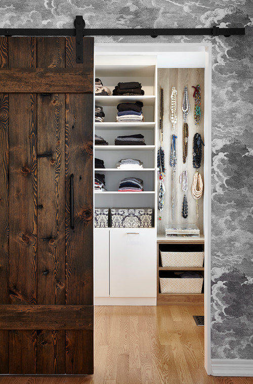 Farmhouse Closet Sliding Barn Door