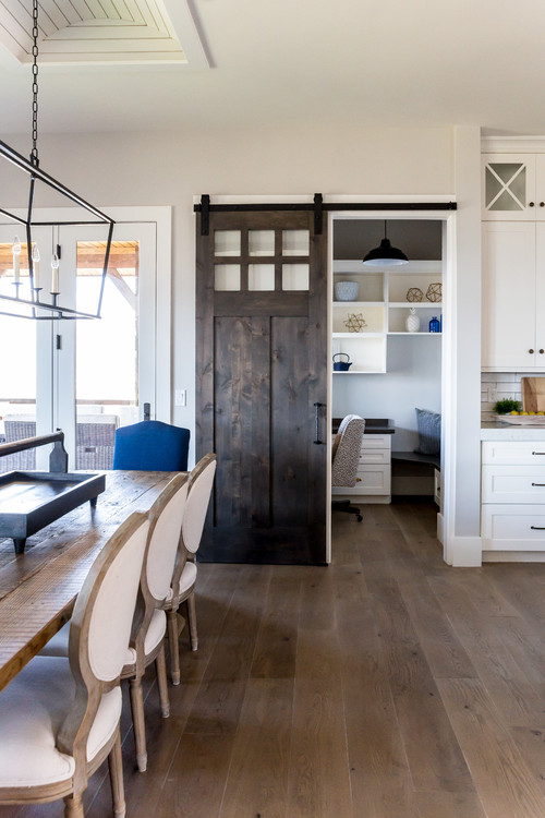 Modern Farmhouse Sliding Barn Door Ideas