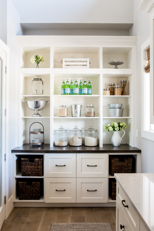 Farmhouse Fresh Kitchen with Butler