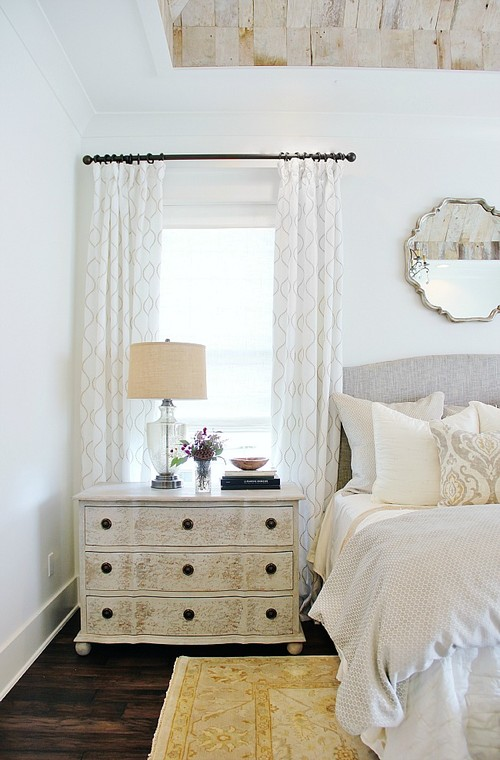 Modern Farmhouse Bedroom with Neutral Decor