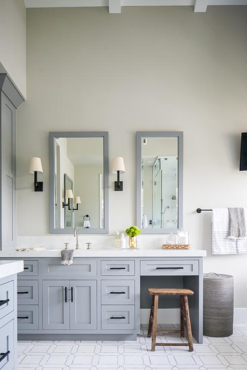 Modern Farmhouse Beach Home Bathroom