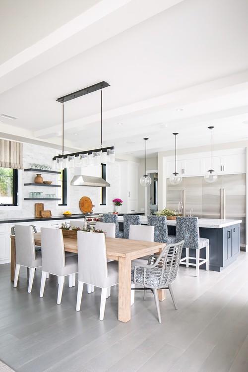 Modern Farmhouse Beach Home Dining Room