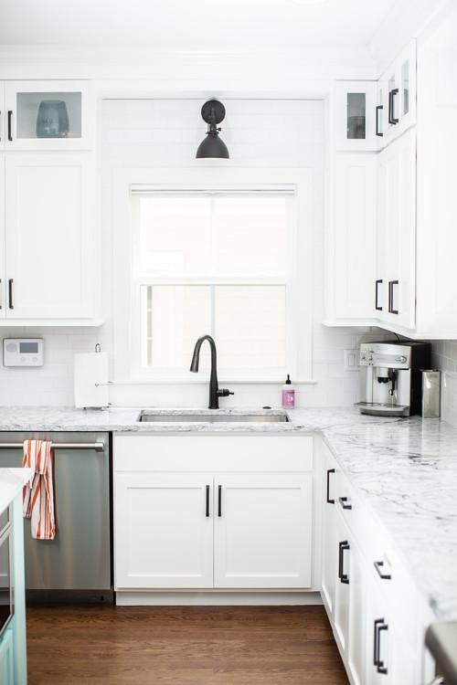 Modern Farmhouse White Kitchen Ideas – Pickled Barrel