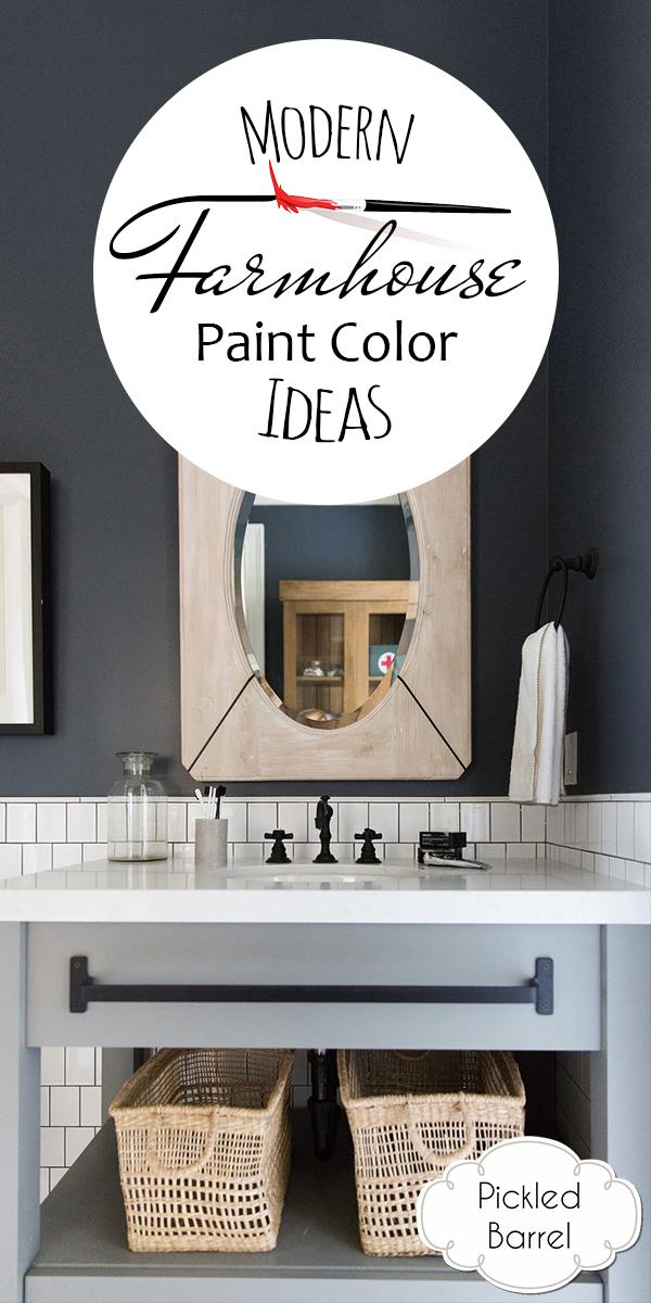 modern farmhouse paint color ideas | farmhouse paint colors | home decor | modern farmhouse | modern farmhouse paint colors | paint colors | paint color ideas