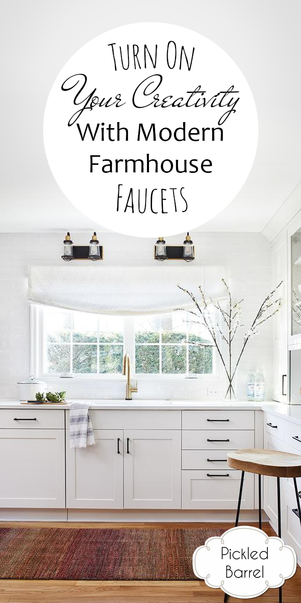 modern farmhouse faucets | faucets | modern farmhouse bath | modern farmhouse kitchen | farmhouse faucets | modern faucets