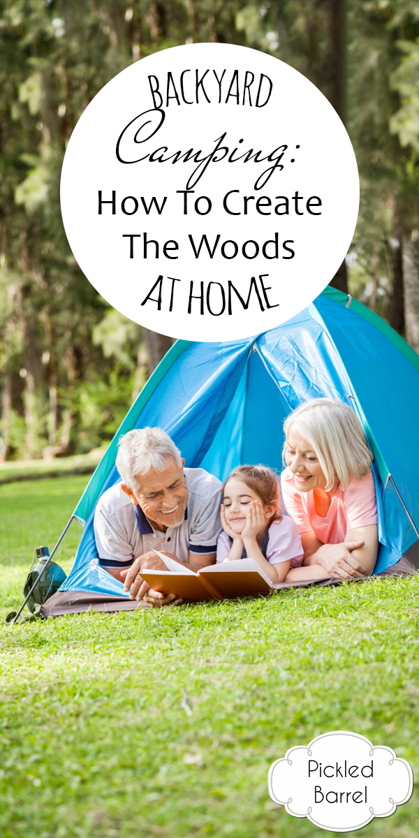 Backyard Camping | rustic life | camping | backyard | camping in the backyard | outdoors | summer