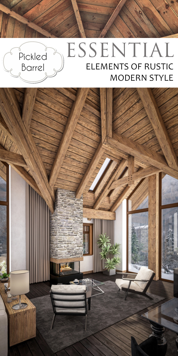 Rustic Modern Style | rustic | home decor | modern | home design | design | style
