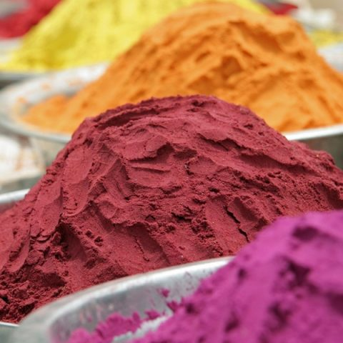 Natural Dyes Made From Plants