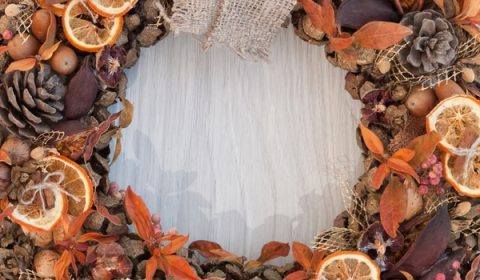 Rustic Fall DIY Wreaths