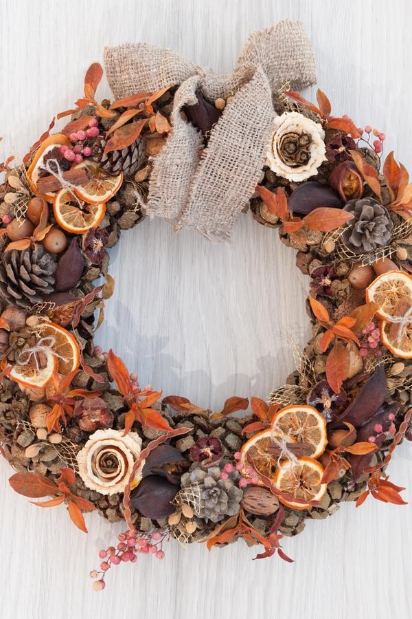 Rustic Fall DIY Wreaths