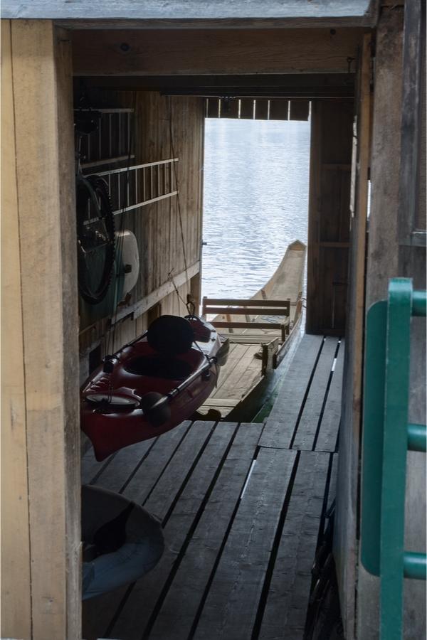 Boathouse | Boathouse ideas | lakeside living | Boathouse blues | boats | lakes | living by a lake