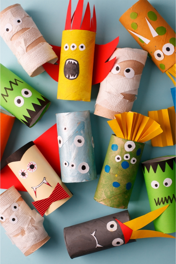 Halloween Crafts | crafts | DIY | Halloween | fall | fall crafts | upcycle | upcycle crafts