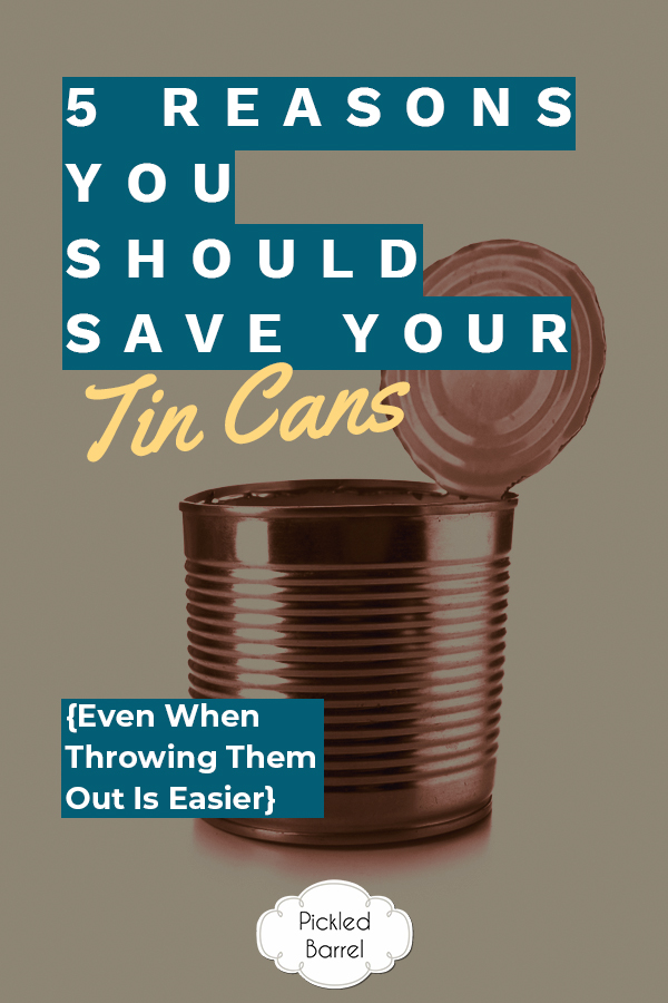 Save Your Tin Cans | DIY | recycle | rustic | save your tin cans | tin cans | tin | cans | upcycle