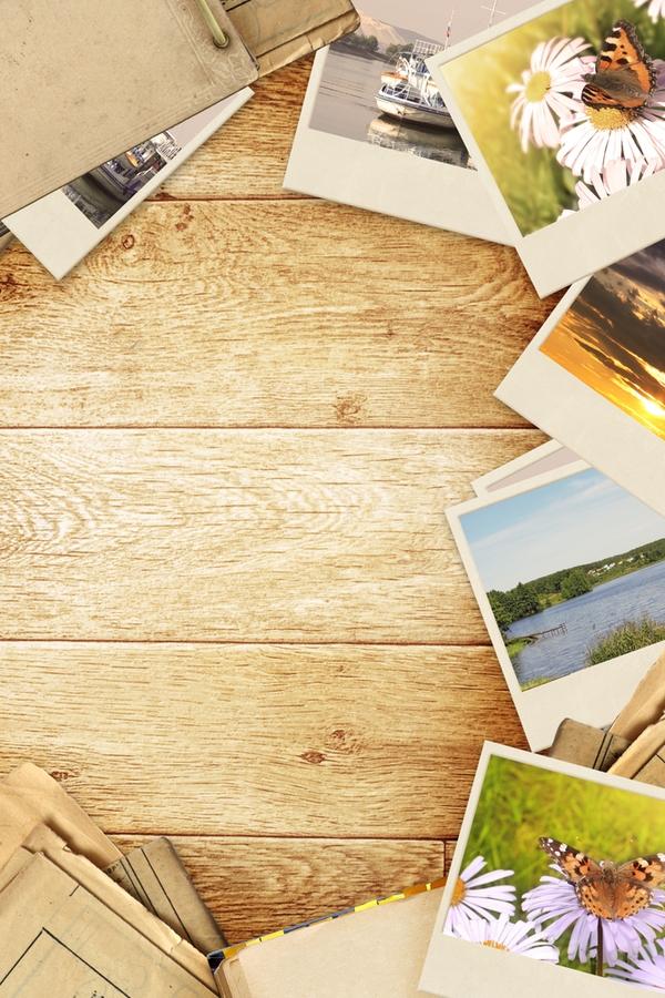 DIY Rustic Photo Transfers