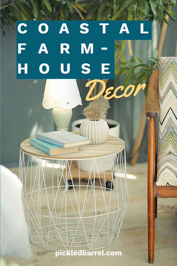 Farmhouse design is incredibly popular. Did you know that you can incorporate the look with your coastal decor? So what if you don't see farm animals out your window, you can still have that homey feel added to your coastal setting. Look for ideas about elements for this look, family room ideas, kitchens and even bedroom ideas. Just imagine how amazing your home will look. #coastalfarmhousedecor #costalfarmhouseelements #homedecortrends