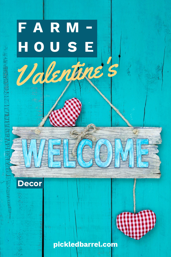Does your modern farmhouse need a little love? No, not a little TLC, I am actually talking about Farmhouse Valentine's Day Decor. Make your house feel loved with out decor ideas that will capture your farmhouse heart. Keep on reading to learn more about these adorable ideas. #farmhousevalentinesdecor #farmhouseholidaydecor #valentinesdayhomedecor