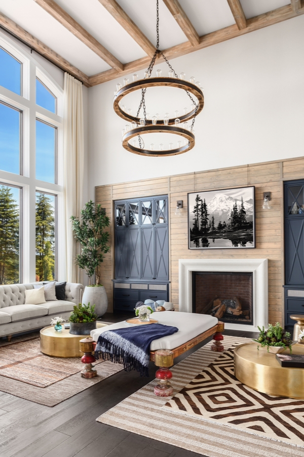 What are your favorite elements of modern farmhouse design? One of my favorite elements is a modern farmhouse fireplace with shiplap. If you need inspiration for a new build or ways to give your existing fireplace more appeal, these modern farmhouse fireplace ideas are sure to inspire you. Having a shiplap accent wall will wow all of your guests.