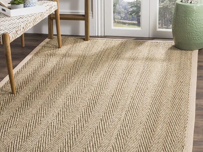 Farmhouse rug for the living room