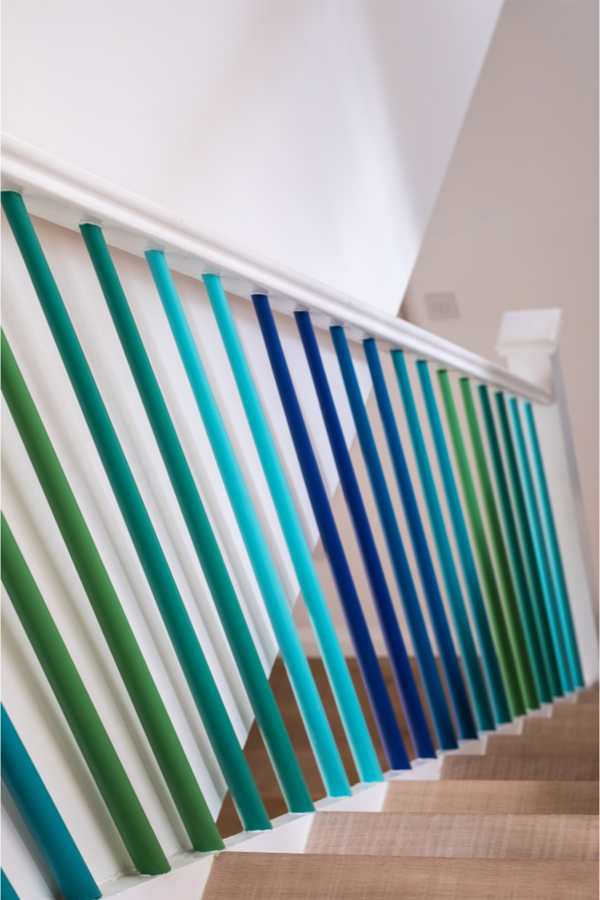 Here are some amazing painted staircase ideas give you a unique way to makeover or accent the staircase inside your home. It doesn't matter what your decorating style is, there's a way to paint your staircase while keeping the style of your home. People will love the way it looks!