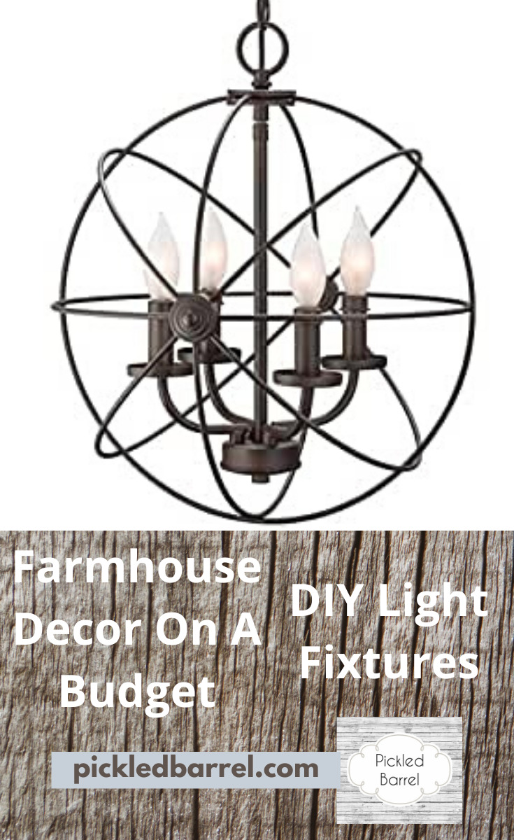 You don't have to overspend for top quality farmhouse decor. DIY farmhouse decor on a budget is yours for less because I'll show you how to make it yourself! #pickledbarrelblog #diyfarmhouse #everythingfarmhouse