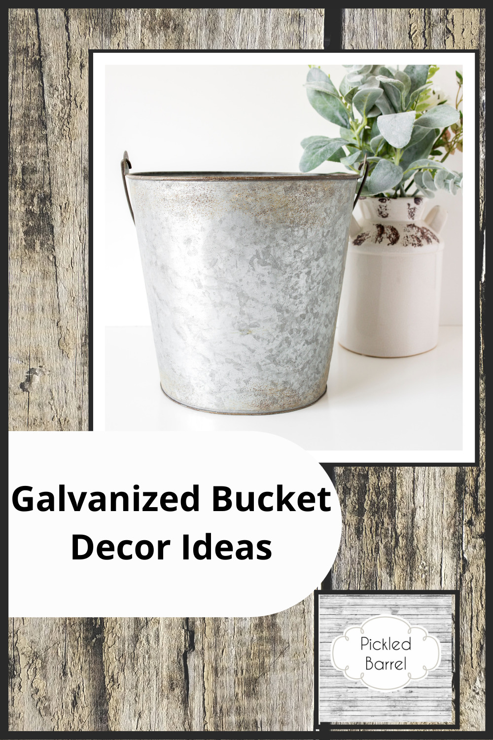 Pickledbarrel.com has all the best ideas and inspo for a modern farmhouse style home. Check out cozy and chic ideas to make your space perfect. Find out how you can decorate your home using galvanized buckets now!