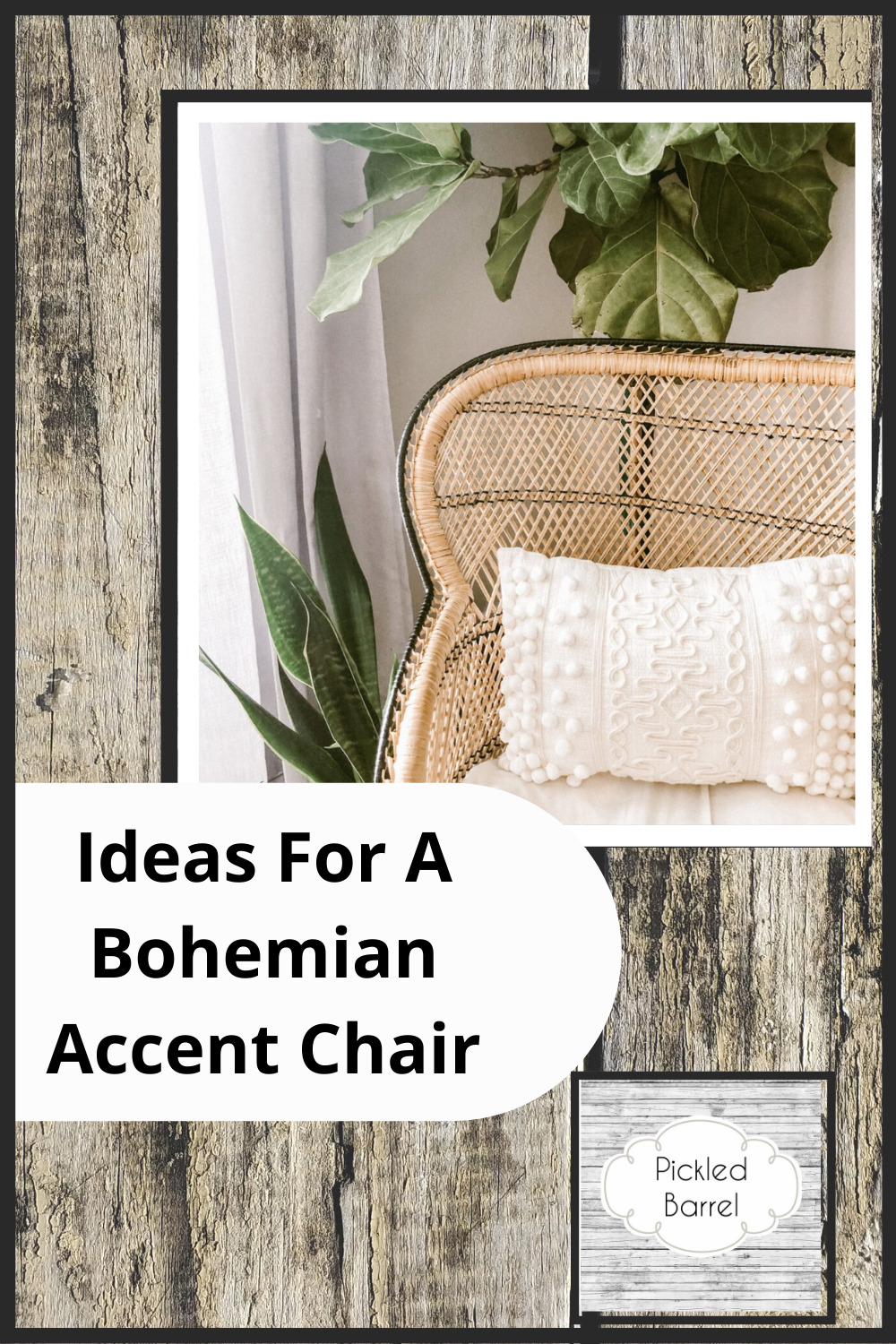 Pickledbarrel.com is the ultimate resource for all things rustic and farmhouse! Make sure every room of your house is absolutely perfect! Add a pop of boho charm to your room with one of these amazing bohemian accent chairs!