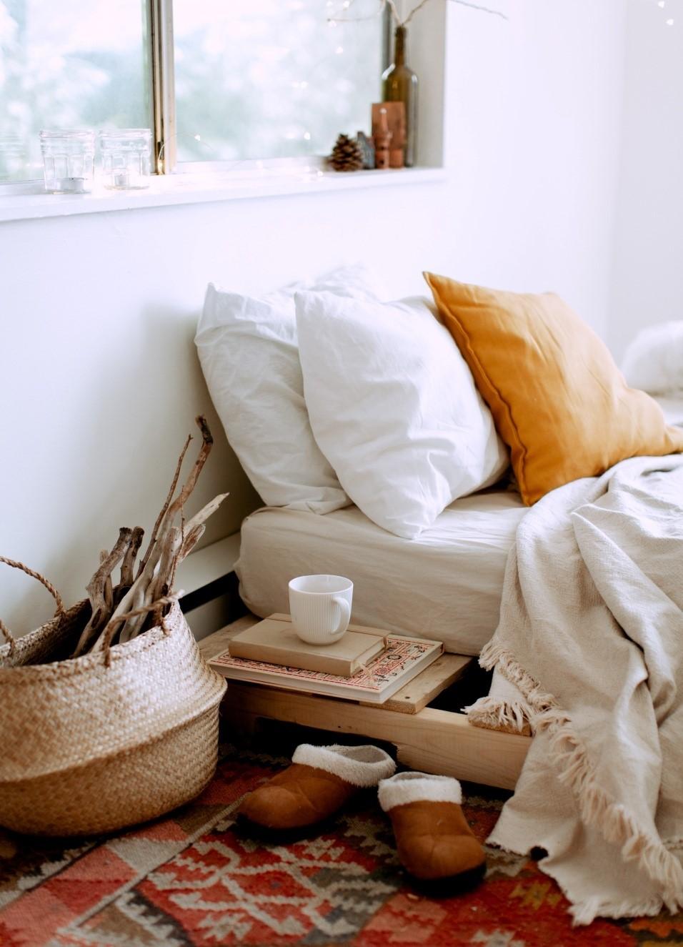 Luxurious farmhouse pillows
