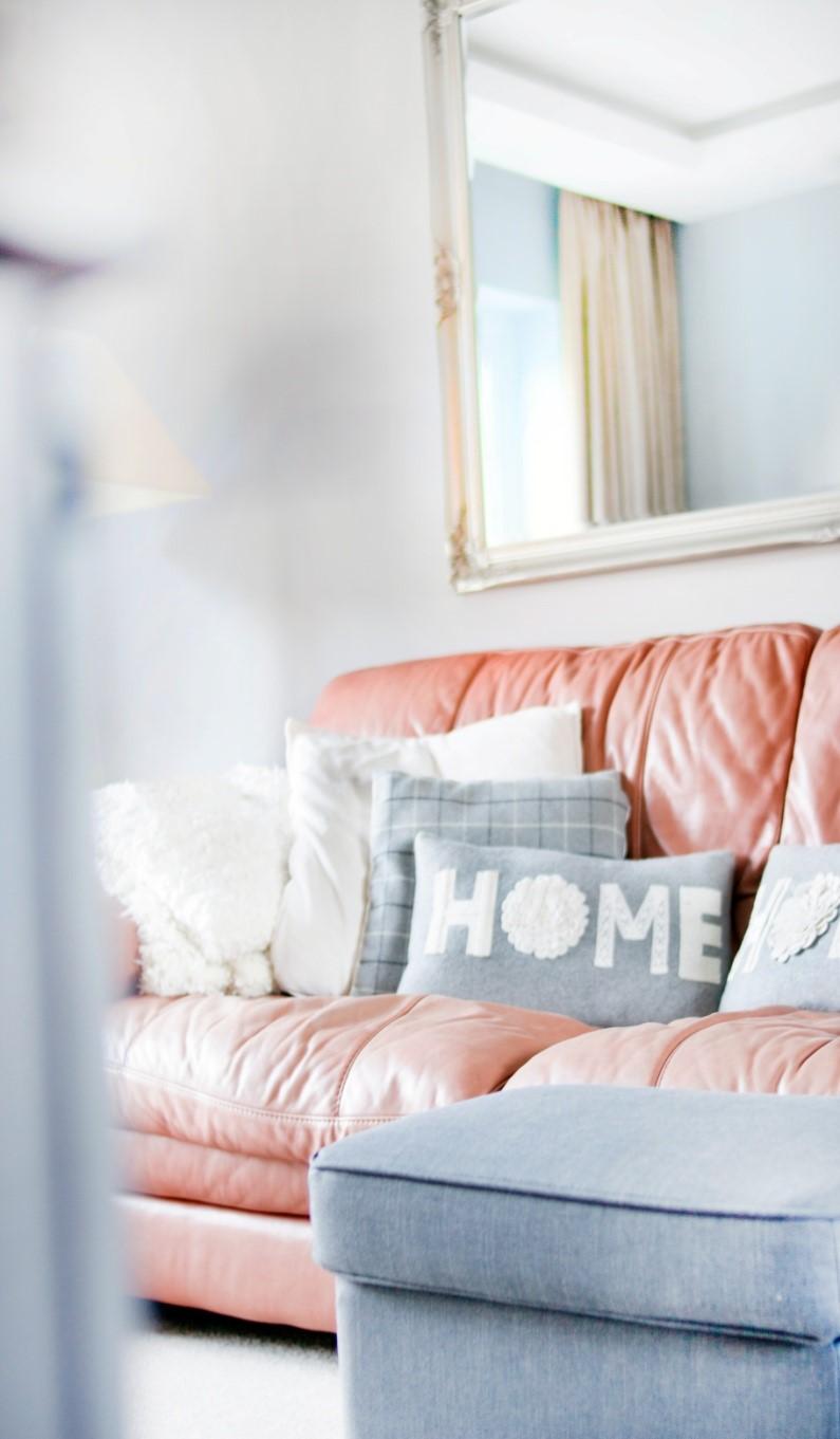 Cozy farmhouse pillows