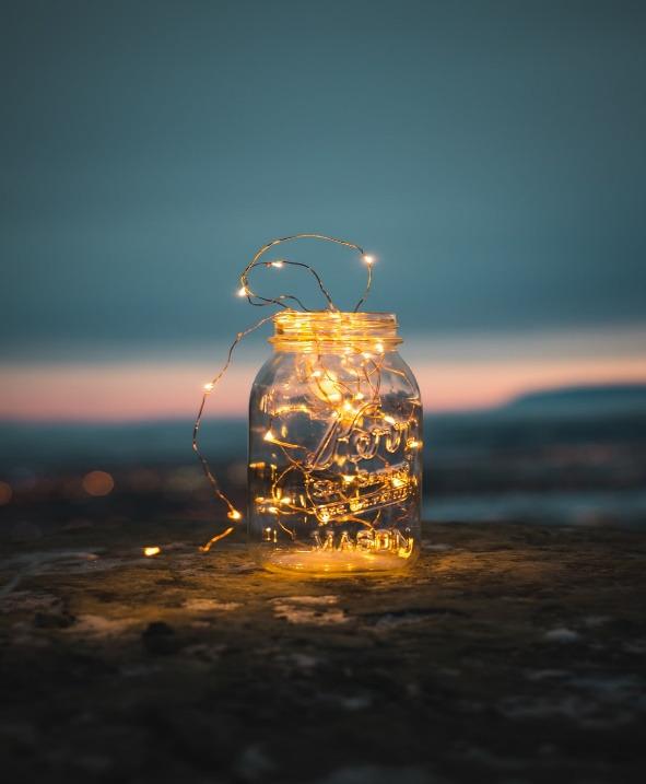 Mason jar lantern - fall Mason jar crafts