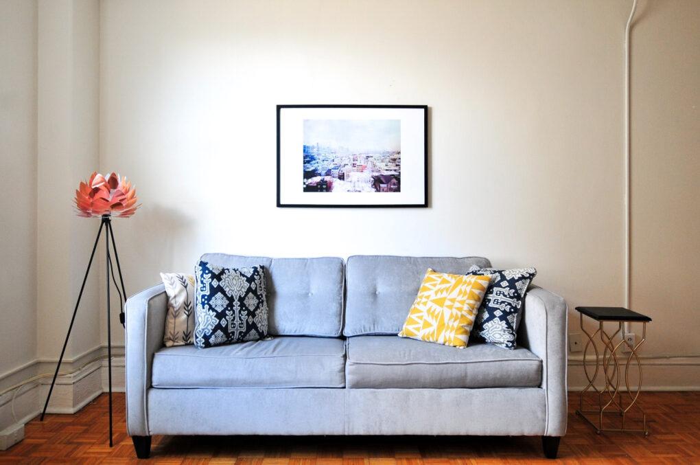 farmhouse sofa