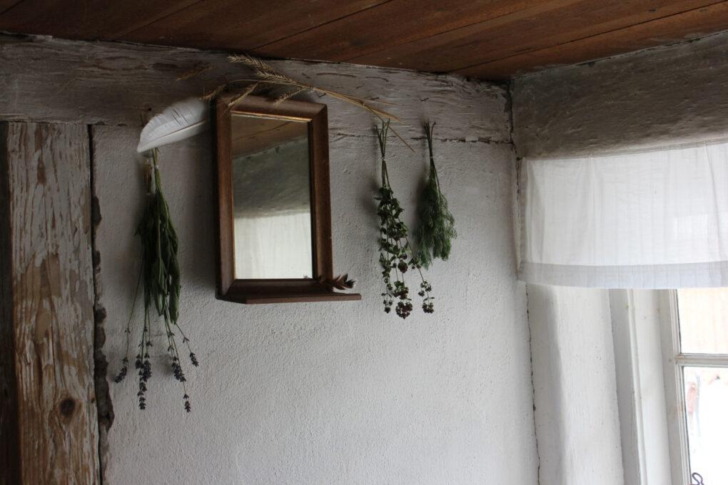 Rustic farmhouse mirrors