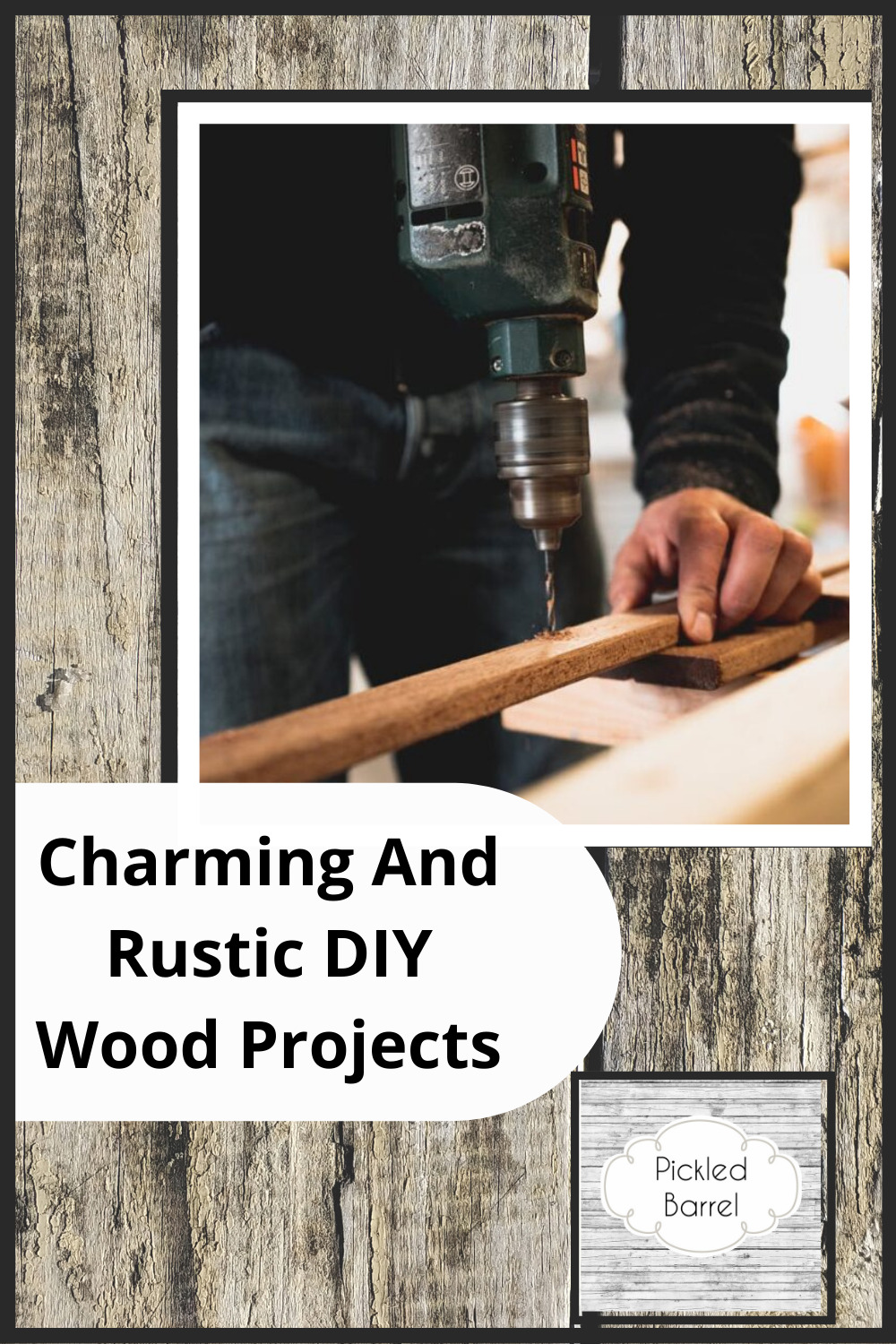 Pickledbarrel.com is the best source for farmhouse style, rustic decor, and simple upcycling ideas! Add some DIY charm to your home! Learn how you can make fun and rustic wood crafts today!