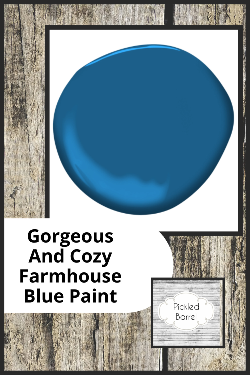 Pickledbarrel.com is the ultimate resource for all things rustic and farmhouse! Make sure every part of your home is perfectly rustic and cozy! Try these incredible shades of blue paint for your farmhouse!