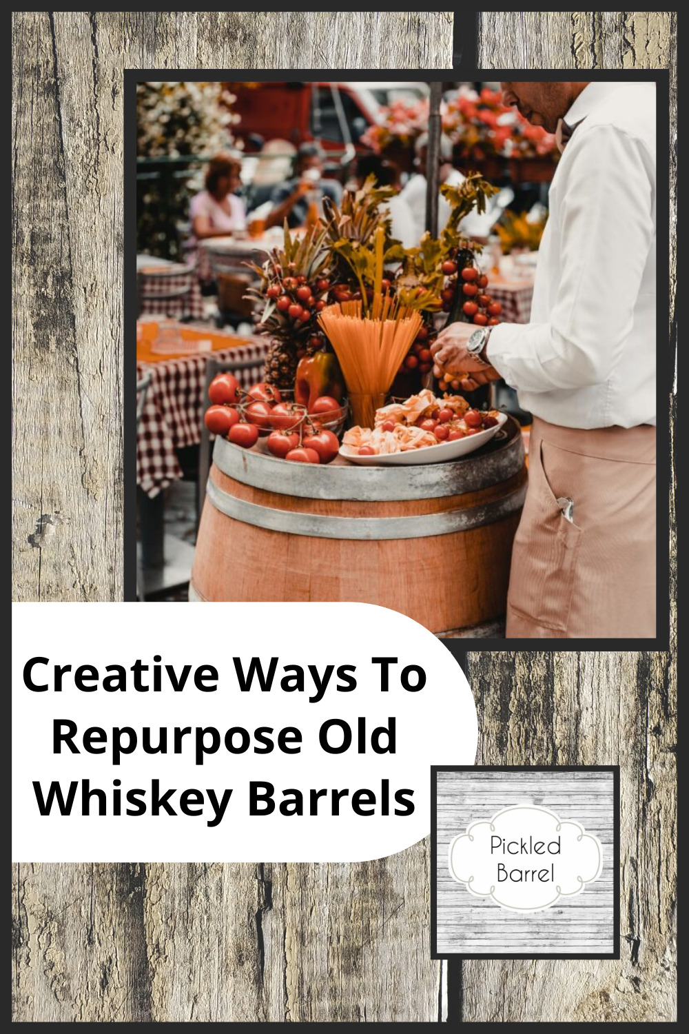 What To Do With Whiskey Barrels
