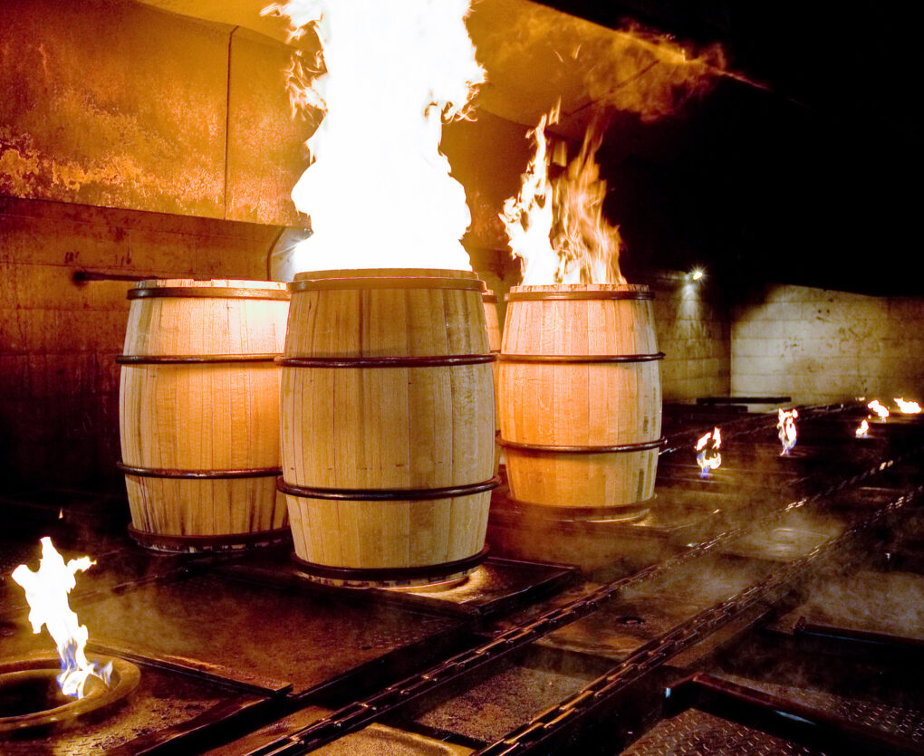 Creative Uses For Whiskey Barrels - Fire Pit