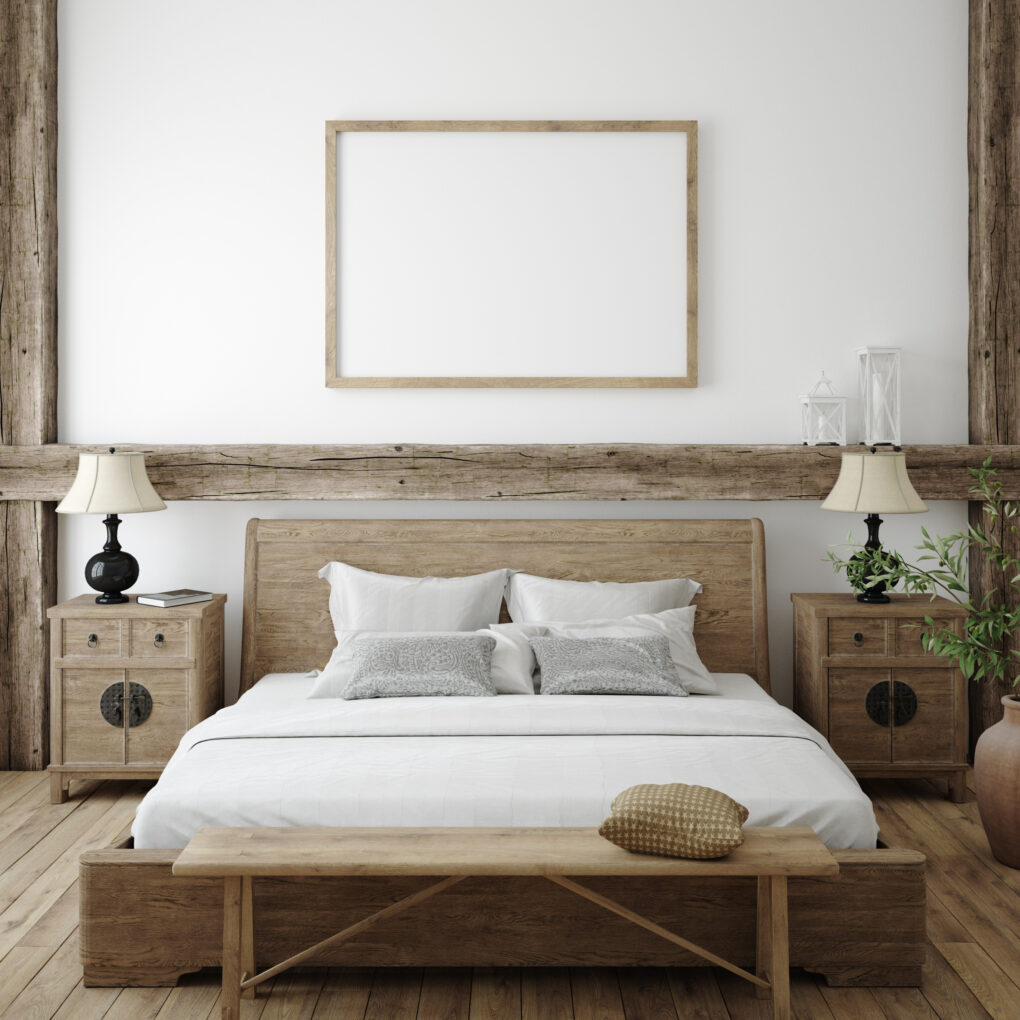 Textures used in Boho farmhouse style